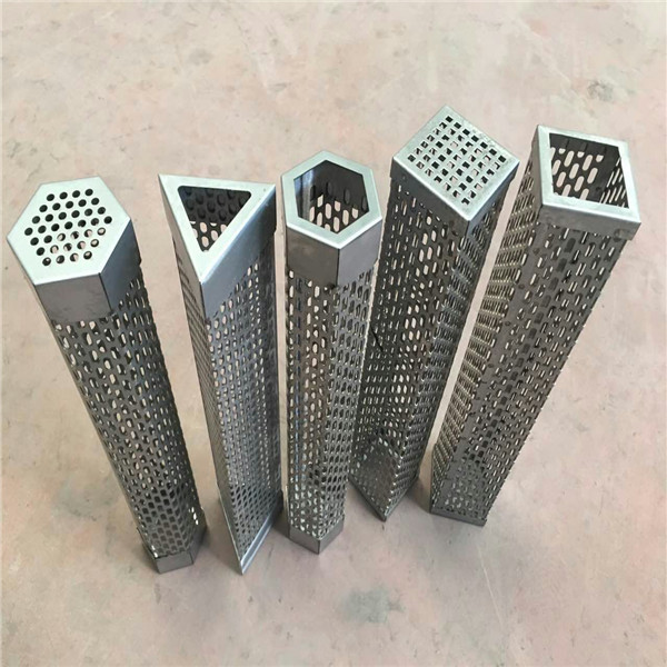 different type perforated smoker tube