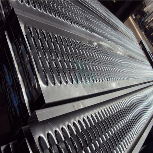 non-skid perforated metal